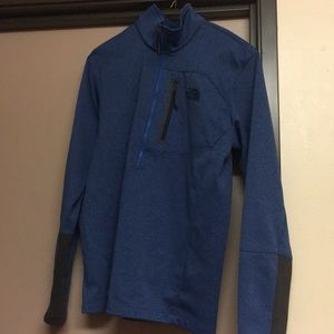 Men's North Face quarter zip pullover